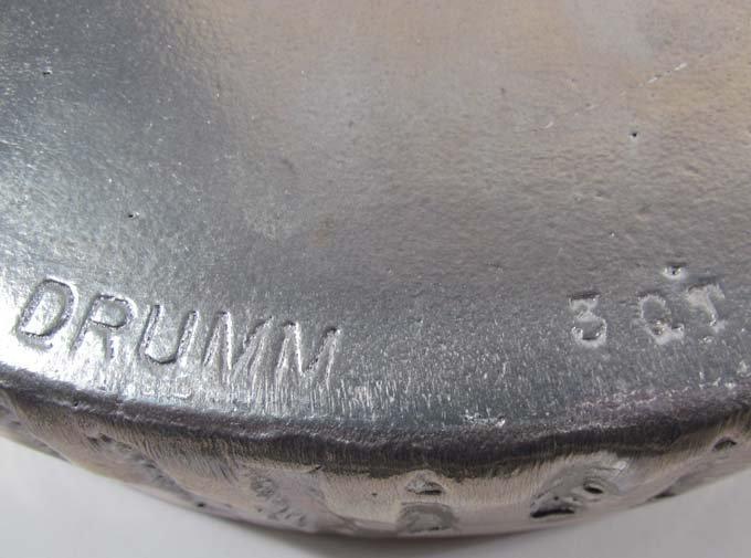 7: Don Drumm aluminum cooking sculpture - 8