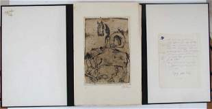 "167: Johnny Friedlaender Portfolio of 11 etchings ""Peti"