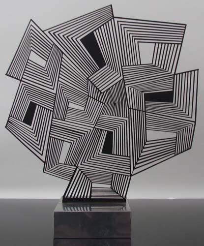 """272: Estuardo Maldonado sculpture relief """"NE 5"""""""