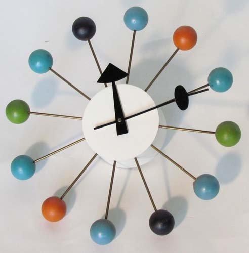 313: Nelson Howard Miller Ball Clock