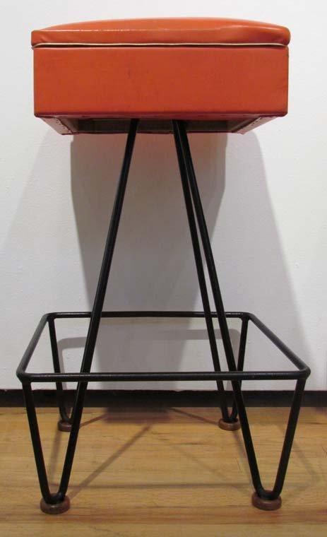 Set of 4 1950's Barstools by Dorothy Schindele - 2