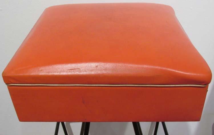 Set of 4 1950's Barstools by Dorothy Schindele - 3