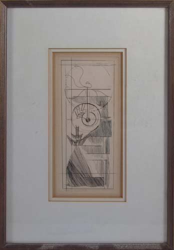 """Marcel Duchamp etching """"Coffee Mill"""" from cancelled pl - 2"""