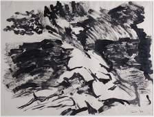 Ben Frank Moss Memory of Spain  Norman Tinker Landscap