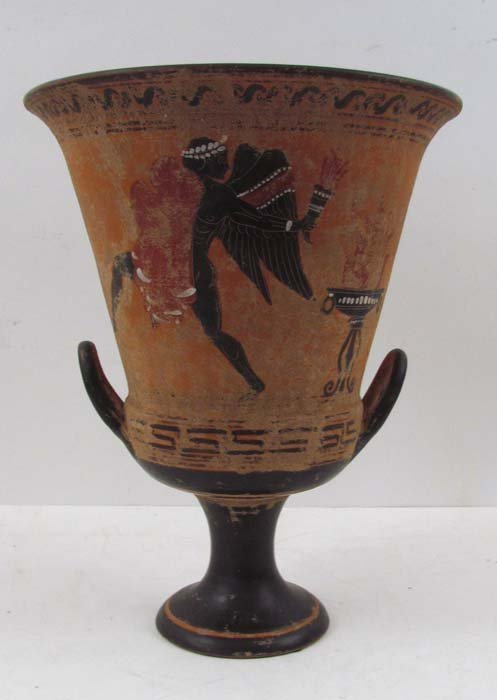 Greek style Calyx-krater (mixing bowl) with Archer, Sol