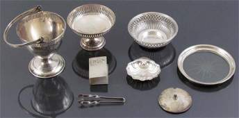 Miscellaneous group sterling silver