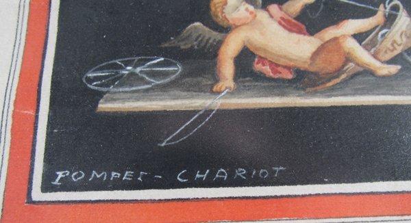 Giovanni Gallo Pompeii watercolor & After Gallo - 3