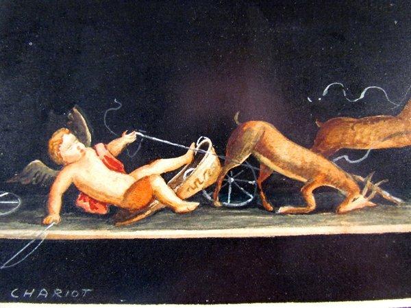 Giovanni Gallo Pompeii watercolor & After Gallo - 5