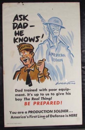 2-1941 Cyrus Hungerford Production Soldier Posters