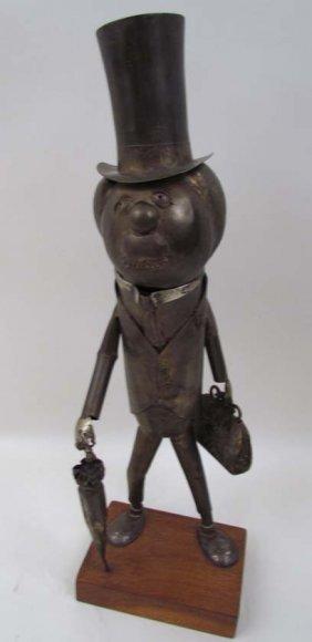 Ed Kosewicz Brass Mr. Peanut