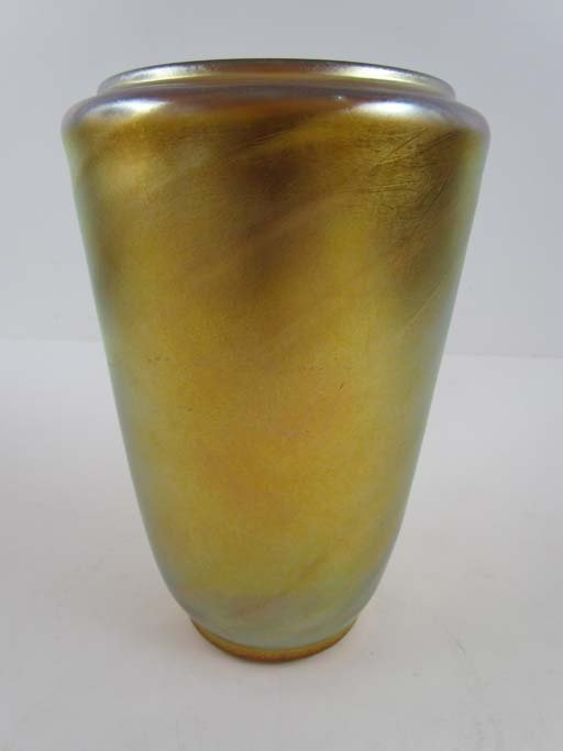 Durand Gold Art Glass Vase