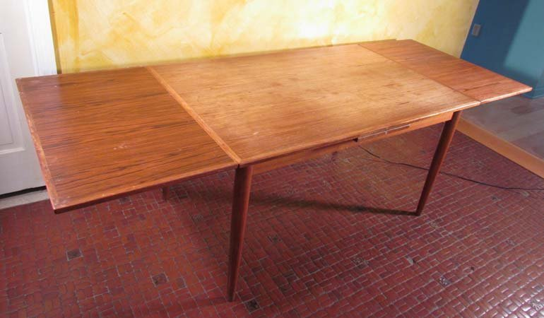 Skovmand & Andersen Danish Dining Room Table