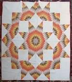 3 Antique American cotton quilts