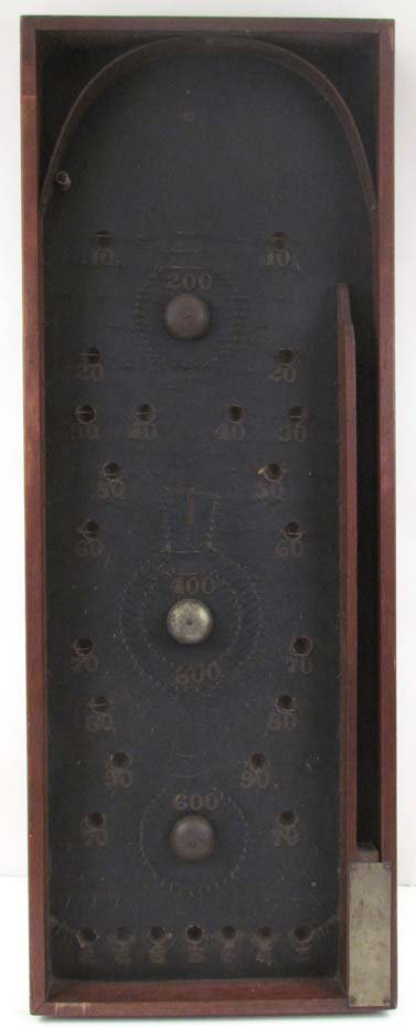 Early American Bagatelle Game