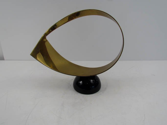 Jere Abstract Brass Table Sculpture