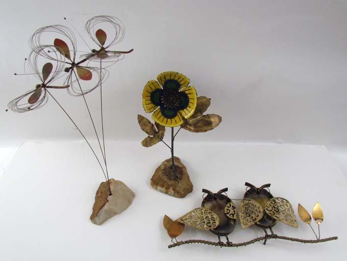 Three Curtis Jere Sculptures