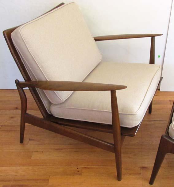 Kofod-Larsen/Selig Lounge Chair & Ottoman - 2
