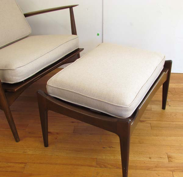 Kofod-Larsen/Selig Lounge Chair & Ottoman - 3