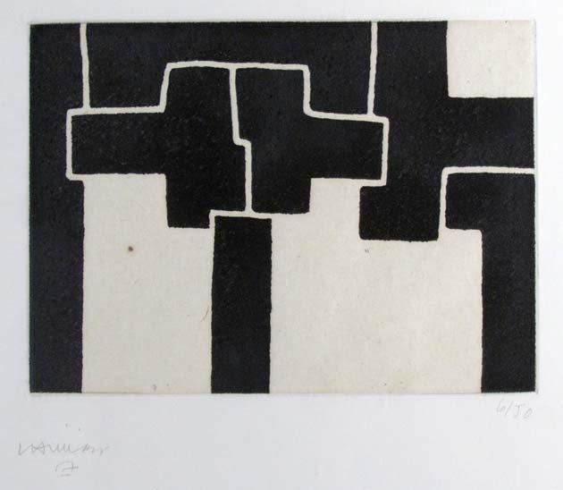 Eduardo Chillida etching for Carnegie International