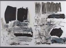 "Joan Mitchell ""Untitled"" orig litho Fresh Air School"