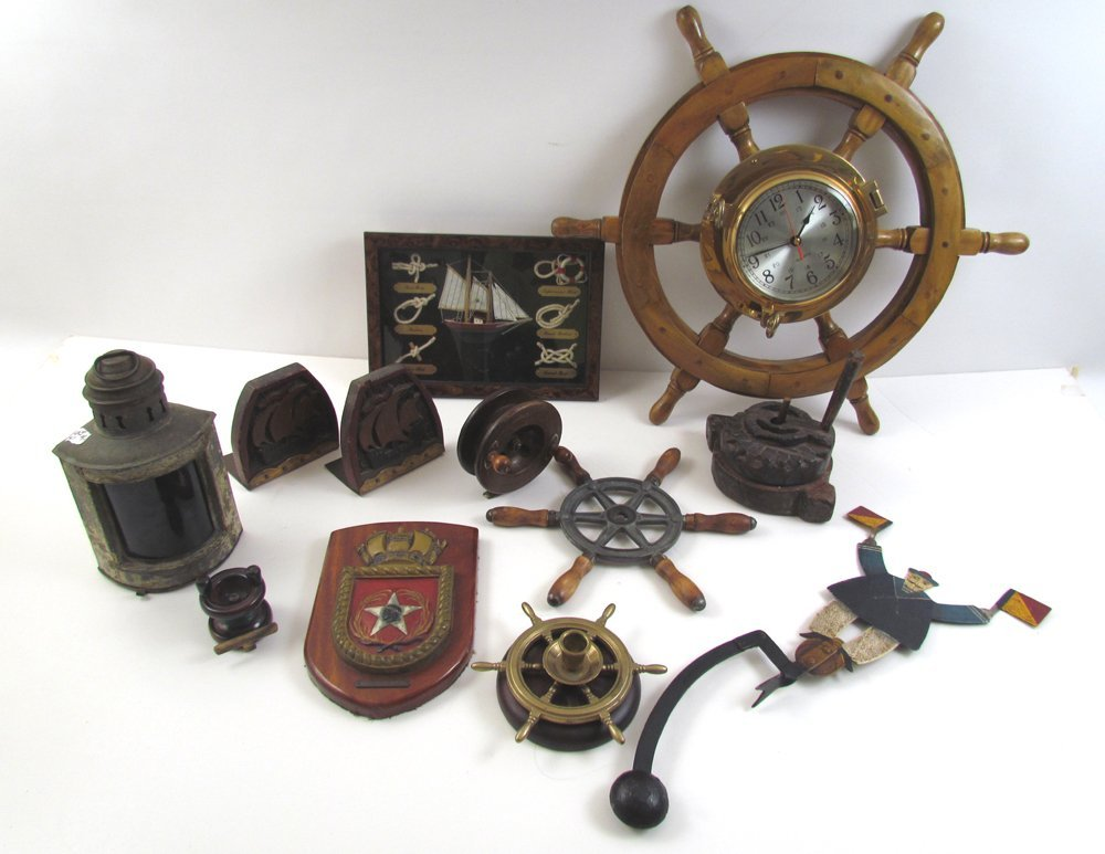 Lot of Nautical objects