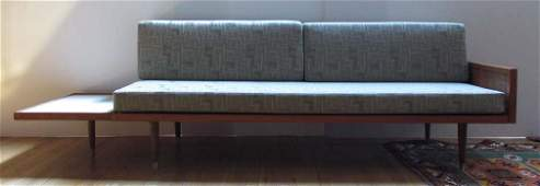 George Nelson Mid Cen Mod daybed/sofa w floating white