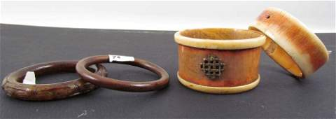 4 vintage bracelets