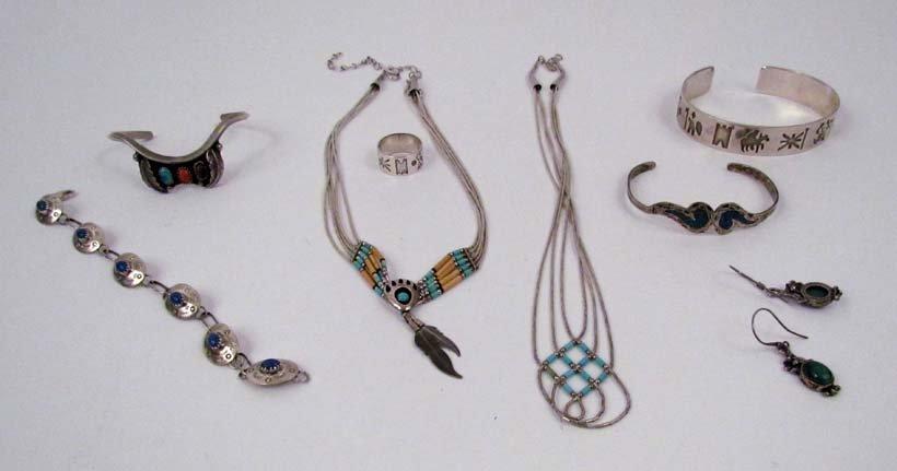 Irish & Nat.Am. Sterling jewelry