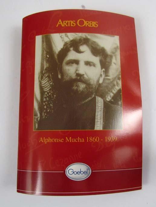 "two Goebel ""artis orbis"" Alphonse Mucha vases - 6"