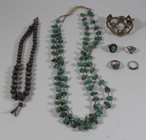 Collection of Native American Jewelry