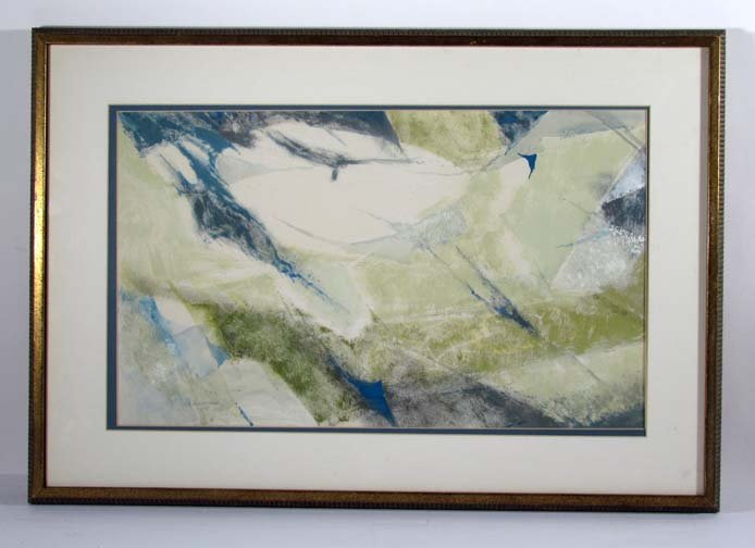 Rochelle Blumenfeld 1958 Untitled Abstract Watercolor