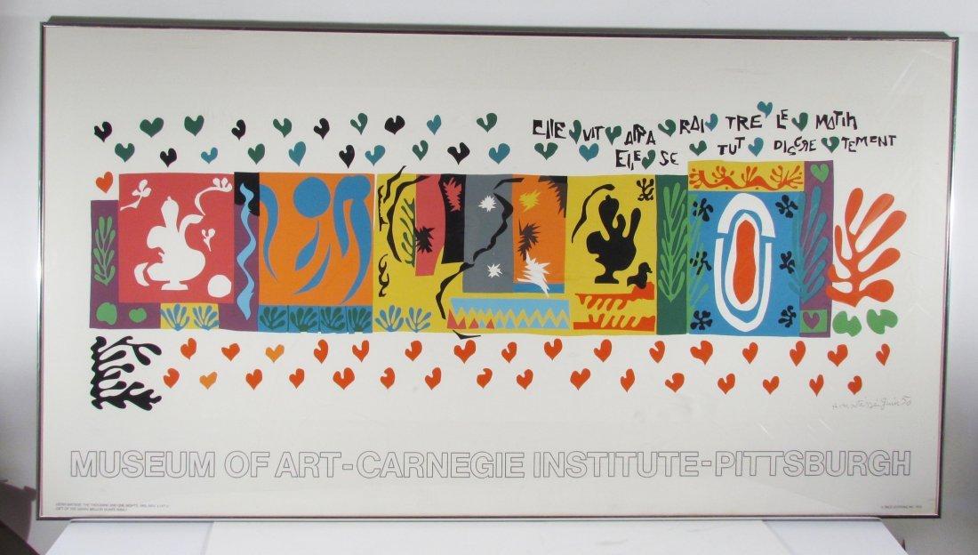 "After Henri Matisse ""1,001 Nights"" Poster"