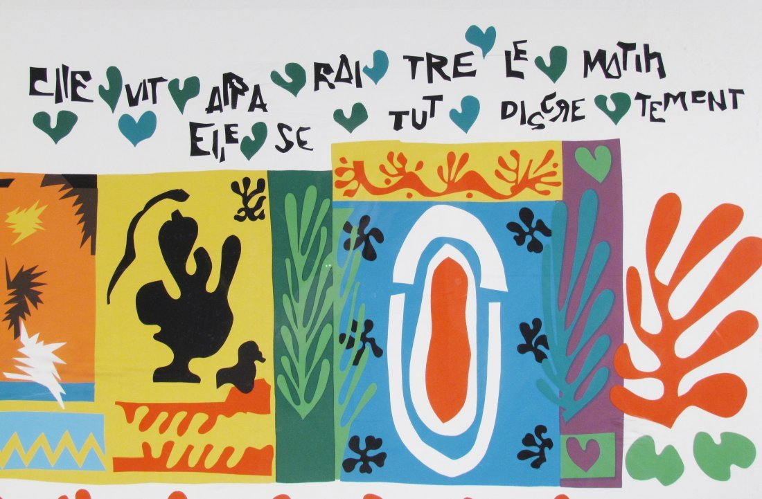 "After Henri Matisse ""1,001 Nights"" Poster - 2"