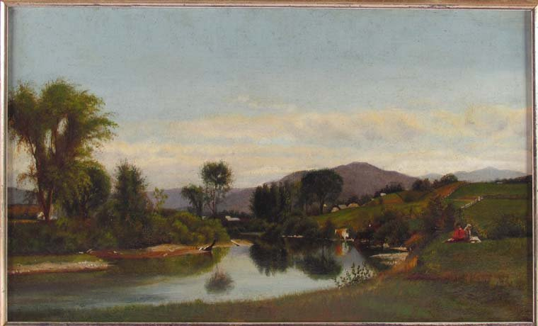 19th Century British Landscape School, Idyllic
