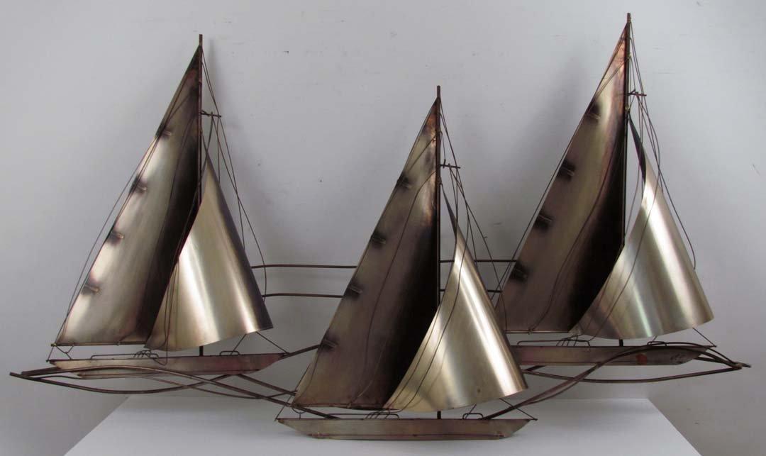C. Jere Sailboat w 3 Sails