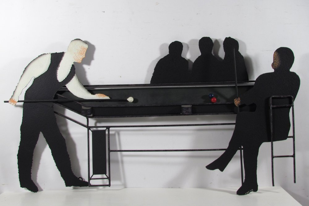 Jere Pool Table & Players