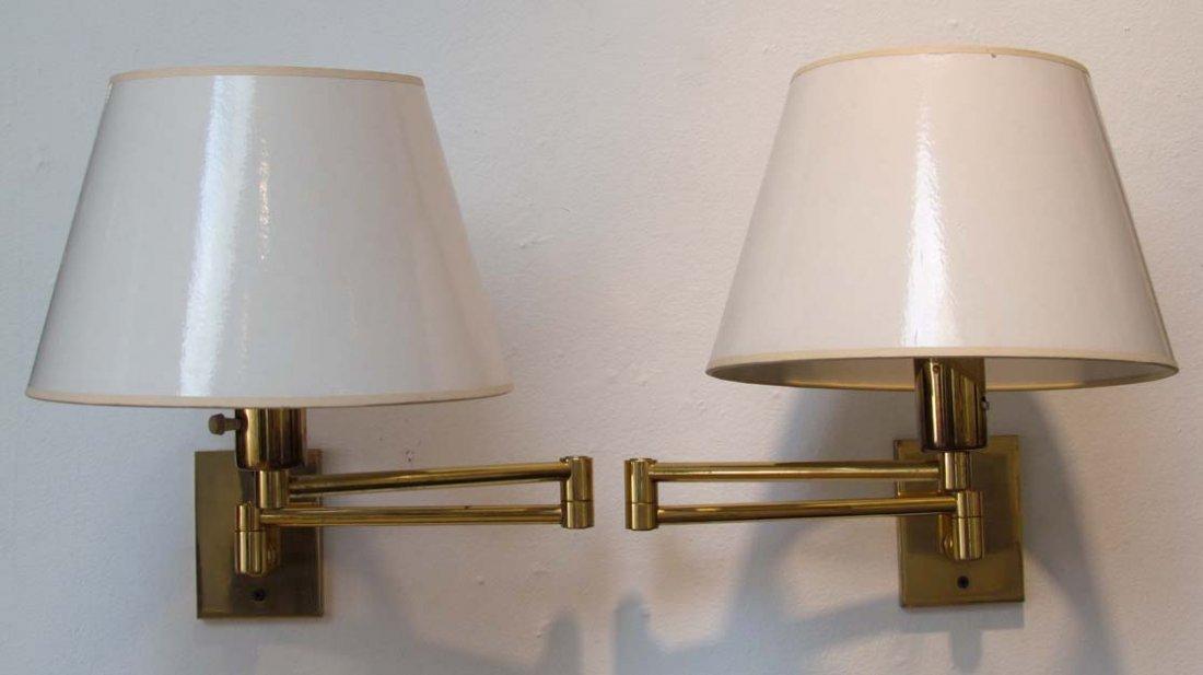 Pair of Hansen New York wall lights