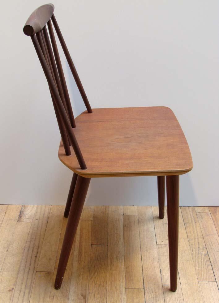 Folke Palsson Side Chair for FDB Mobler - 4