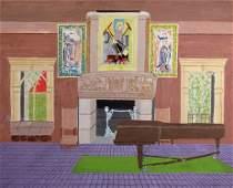 Gideon Cohen painting Gardner Museum Boston