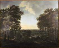 Attributed to Frederick de Moucheron Landscape with