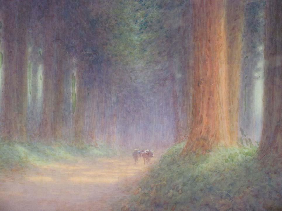 Y. Ito Japanese Watercolor - 2