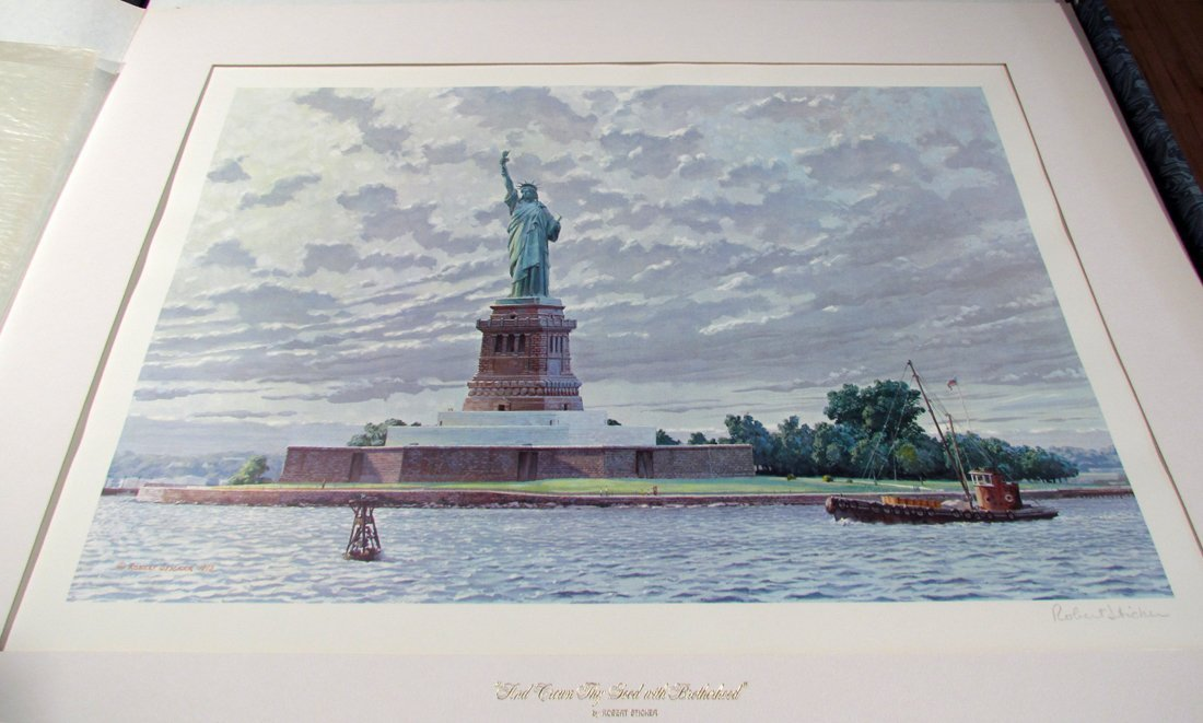"""America The Beautiful"" Deluxe Portfolio Wilson Hurley, - 8"