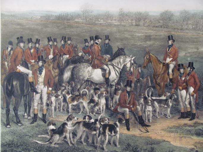 The Meeting of Her Majesty's Stag Hounds on Ascot Heath - 2