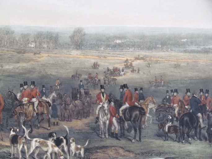 The Meeting of Her Majesty's Stag Hounds on Ascot Heath - 3
