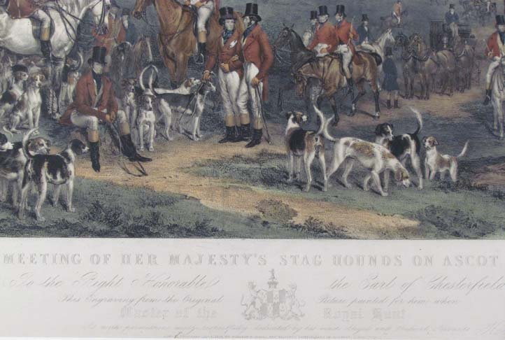 The Meeting of Her Majesty's Stag Hounds on Ascot Heath - 4