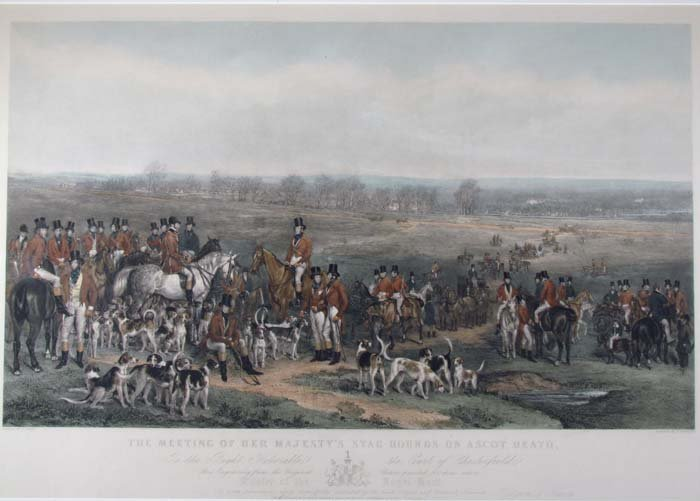 The Meeting of Her Majesty's Stag Hounds on Ascot Heath - 5