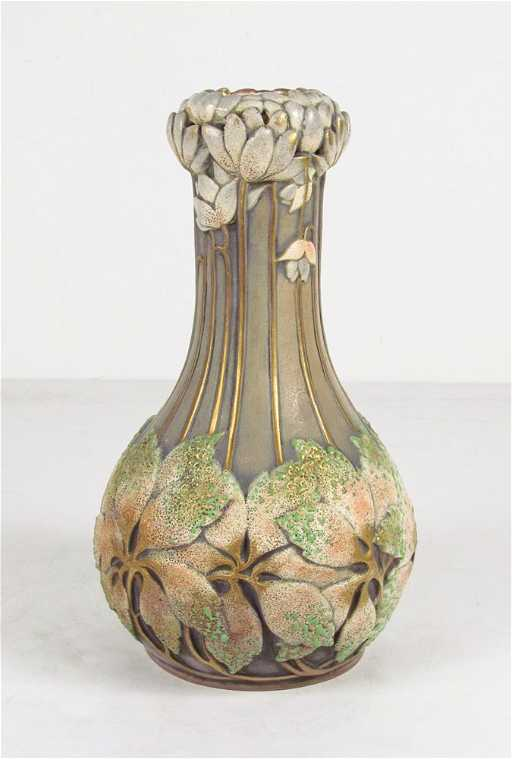 Amphora Vase with Hydrangea Decoration
