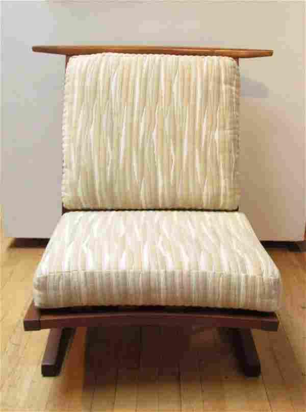GEORGE NAKASHIMA; Conoid Lounge Chair