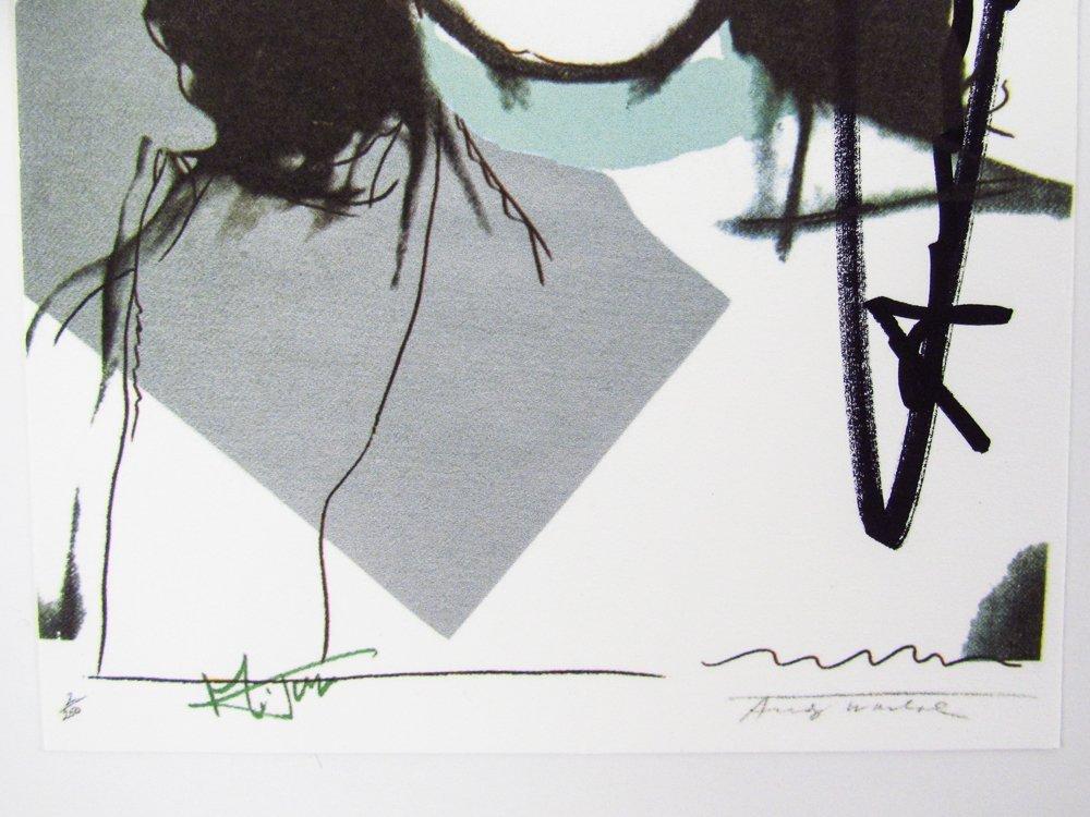 10 Warhol signed Mick Jagger Postcards - 5