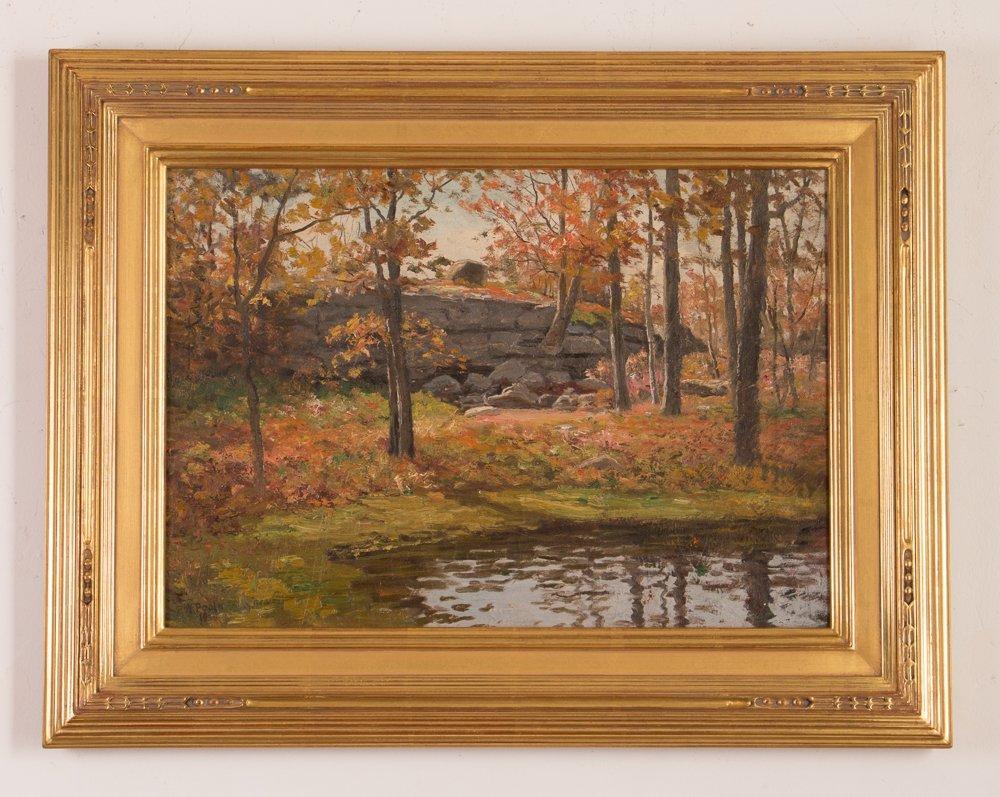 E.A. Poole Fall Landscape